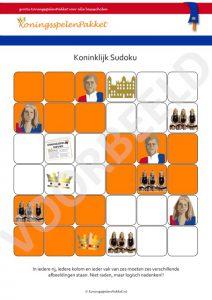 Koningsspelen Sudoku 6x6